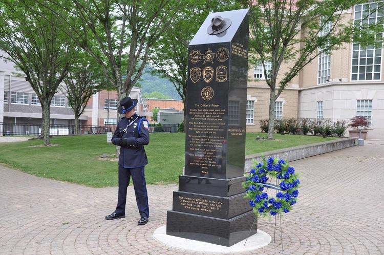 police memorial image