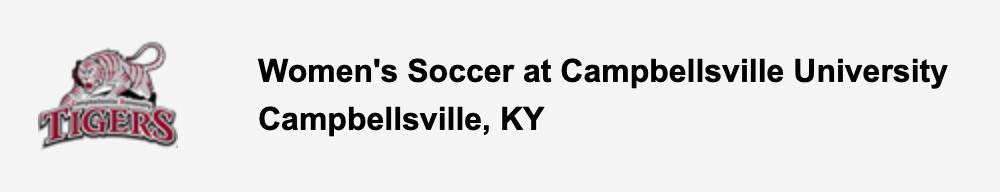 Women's Soccer at Campbellsville University