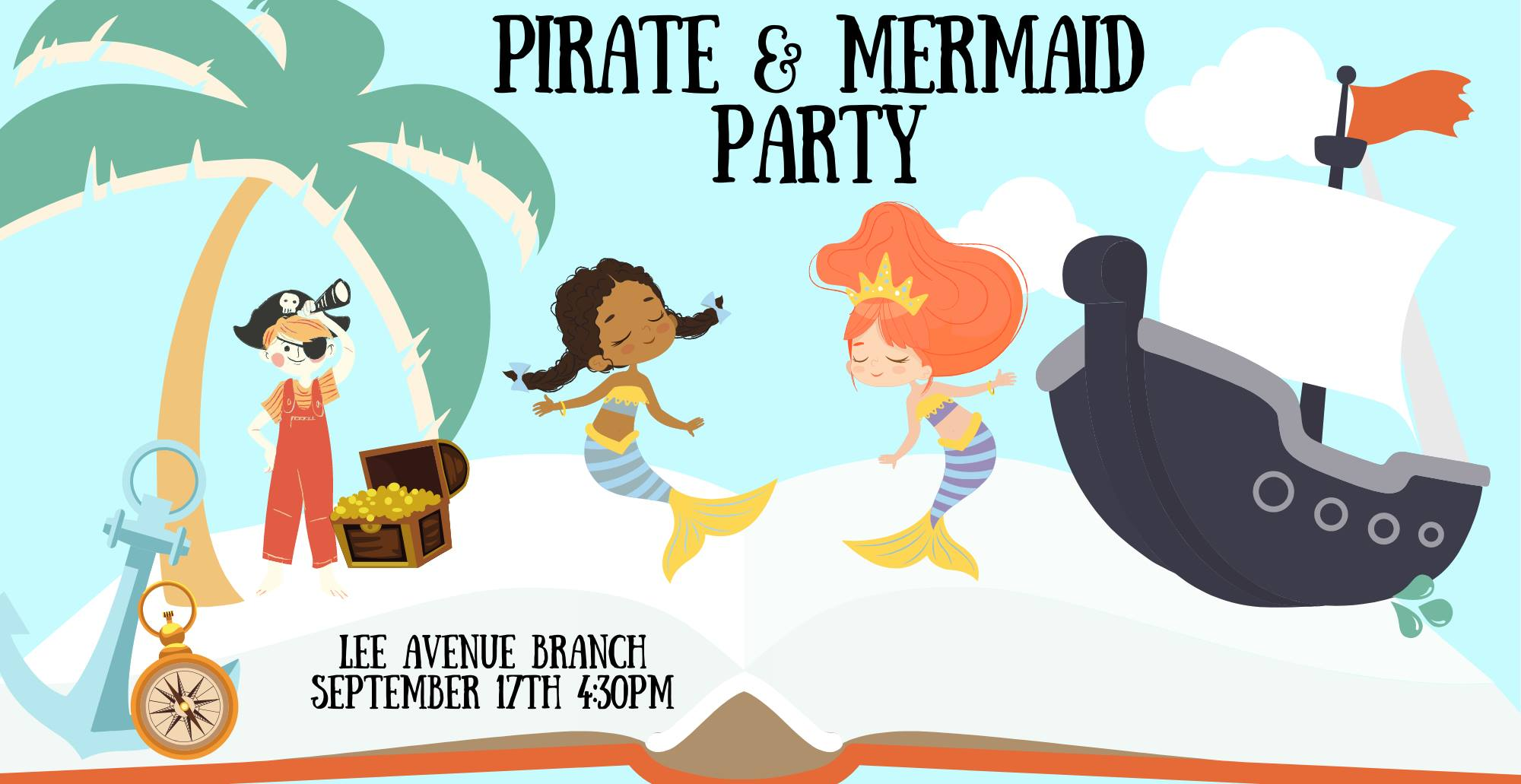 Pirate and Mermaid Party